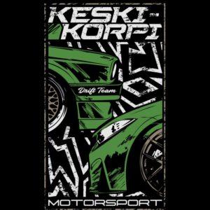 Keski-Korpi Motorsport t-paita #3 logo